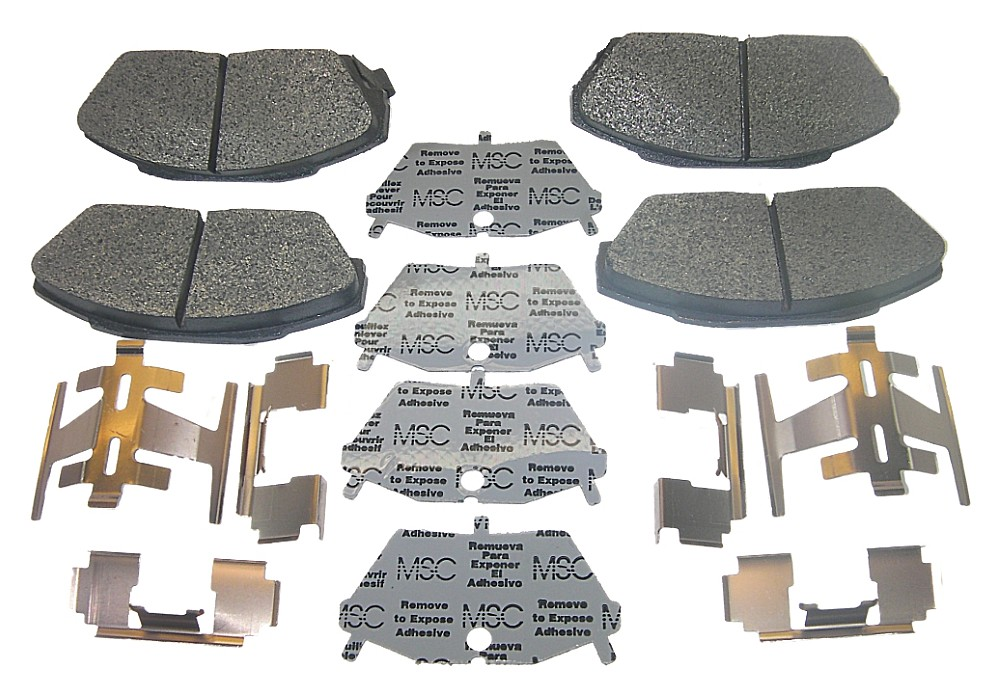 AutoSpecialty 24-341-02 Disc Brake Pads