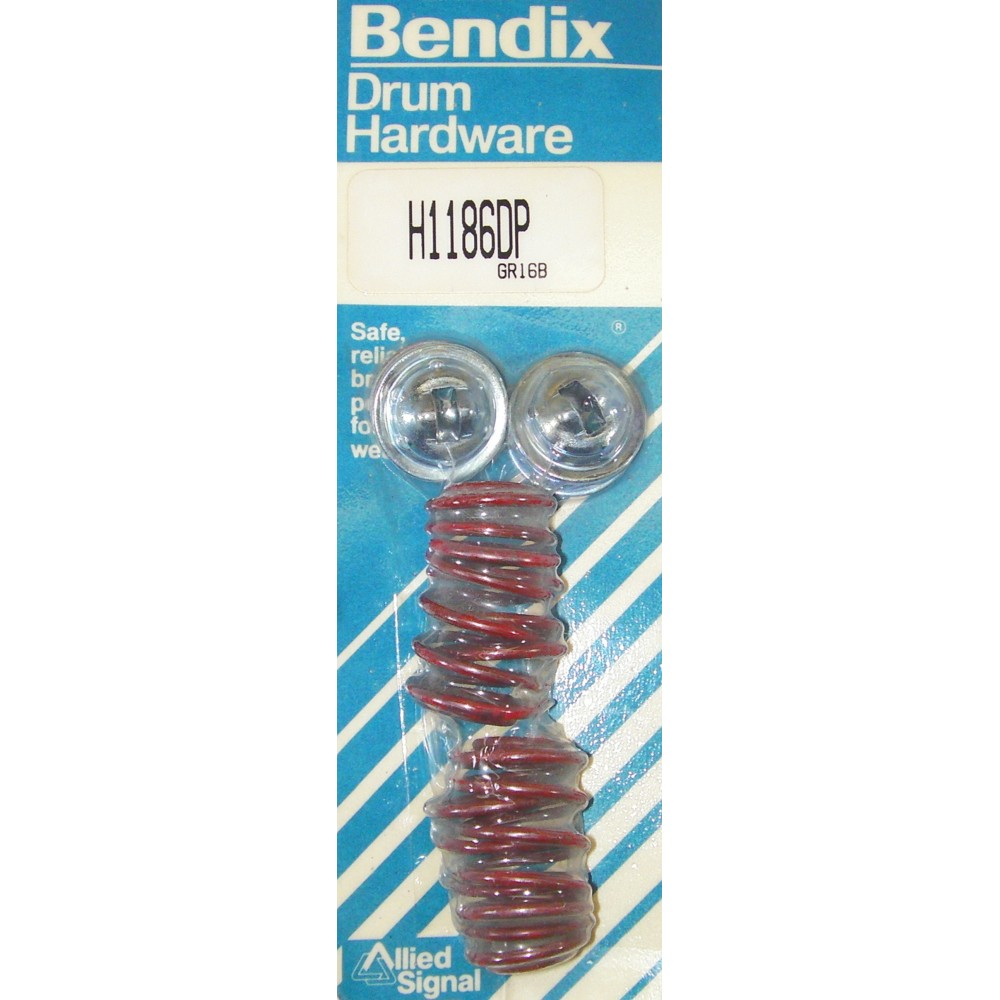Bendix H1186DP Drum Brake Shoe Hold Down Spring Kit