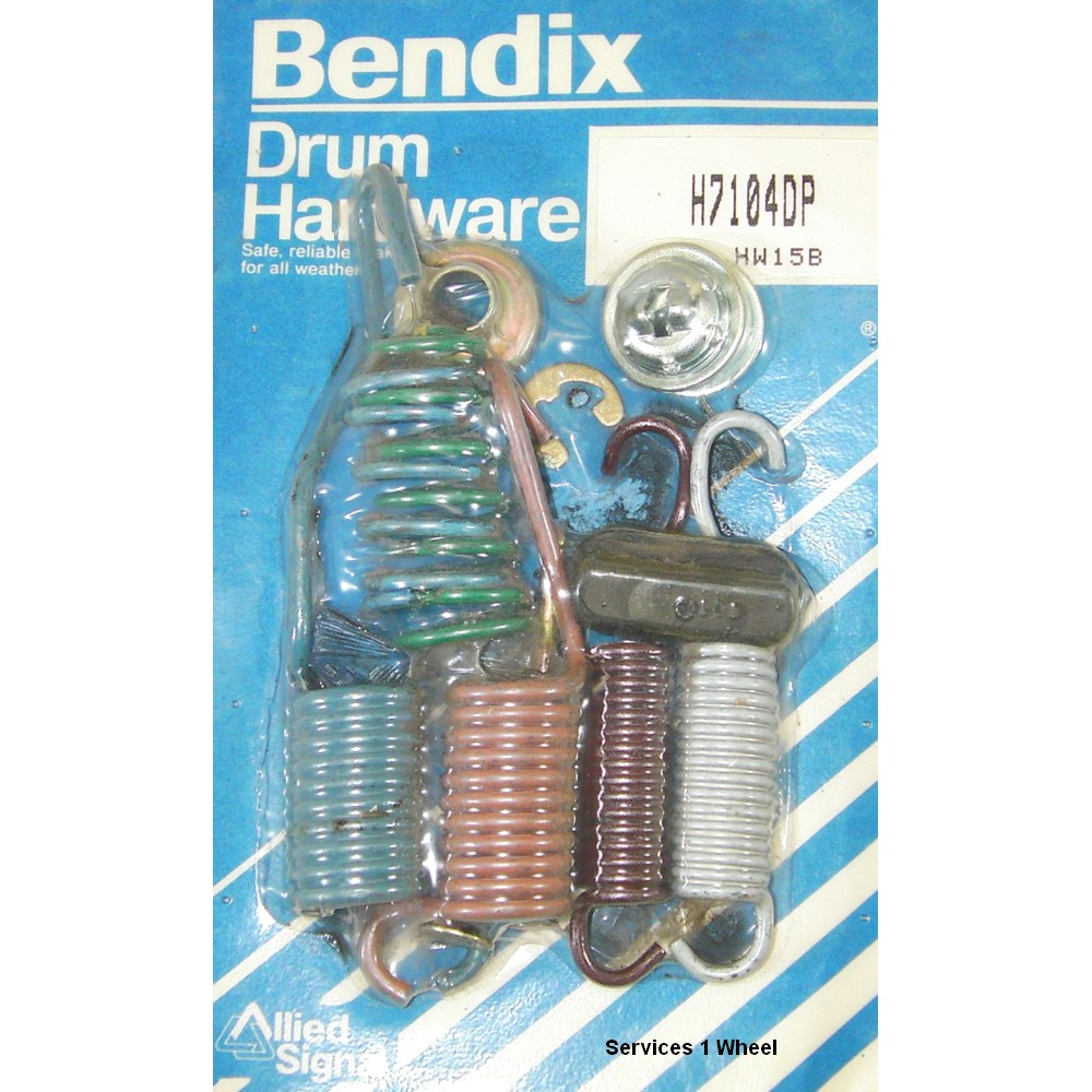 Bendix H7104DP Disc Brake Hardware Kit