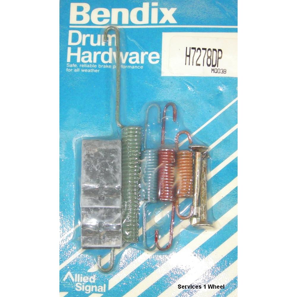 Bendix H7278DP Disc Brake Hardware Kit