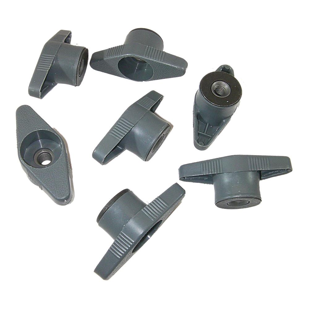 Genuine GM 22788371 Tire Jack Storage Gray Plastic Wing Nut Retainer