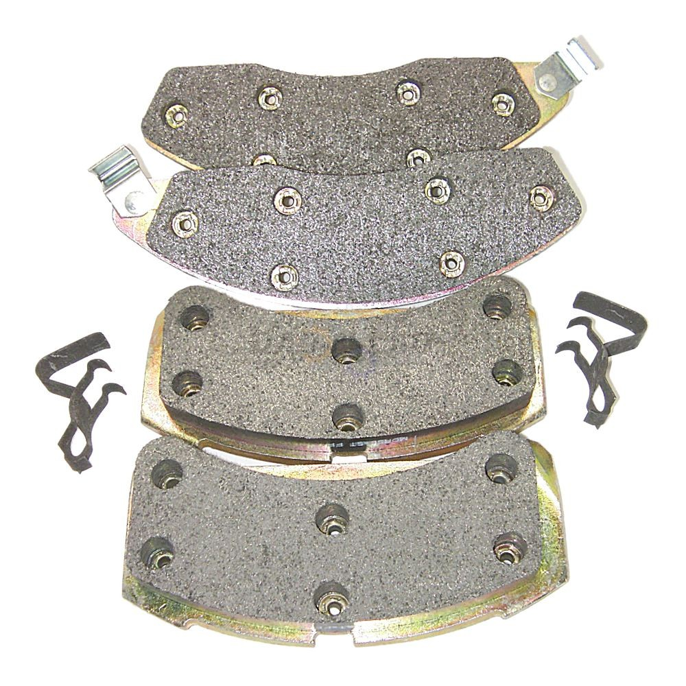 Friction Master MKD181 Semi-Metallic Disc Brake Pads
