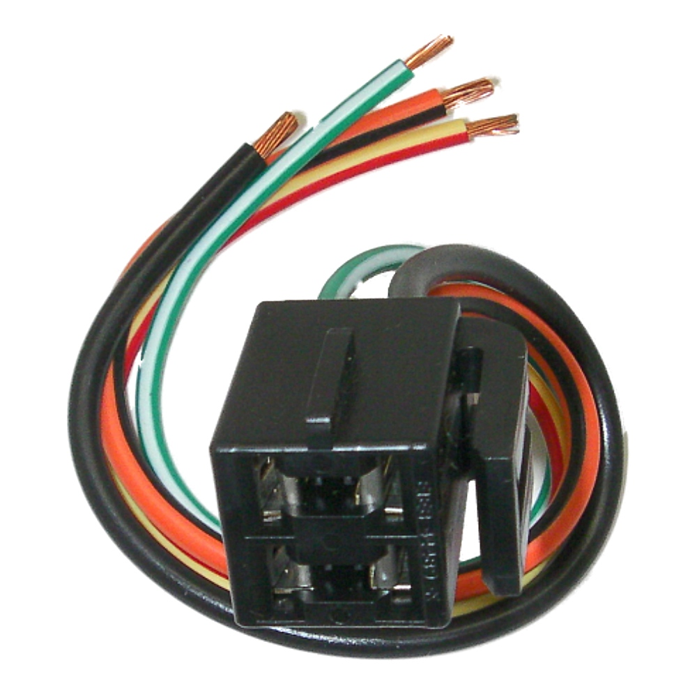 parts master 84081 4 wire hvac blower switch pigtail connector for rh ebay com 1989 Ford Bronco Ignition Switch Replacement Ford 4.0 SOHC Exploded-View
