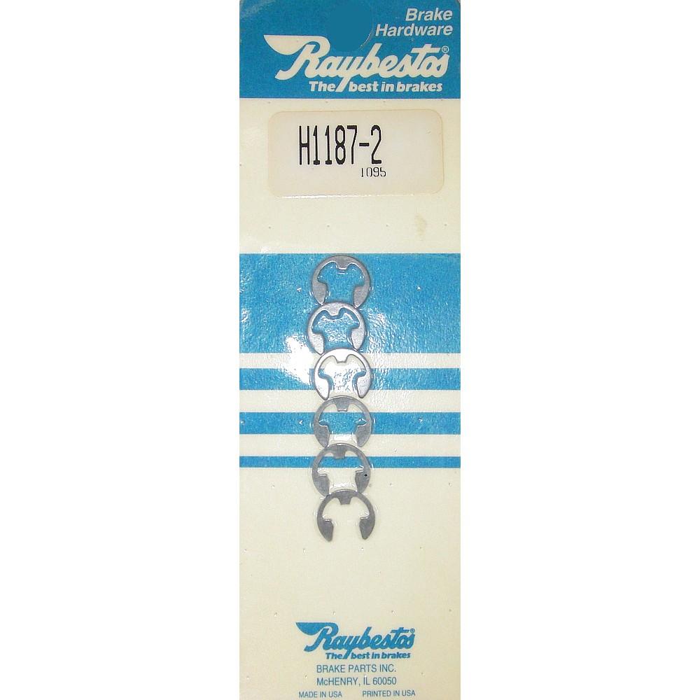 Raybestos H1187-2 Drum Brake Shoe C-Washer