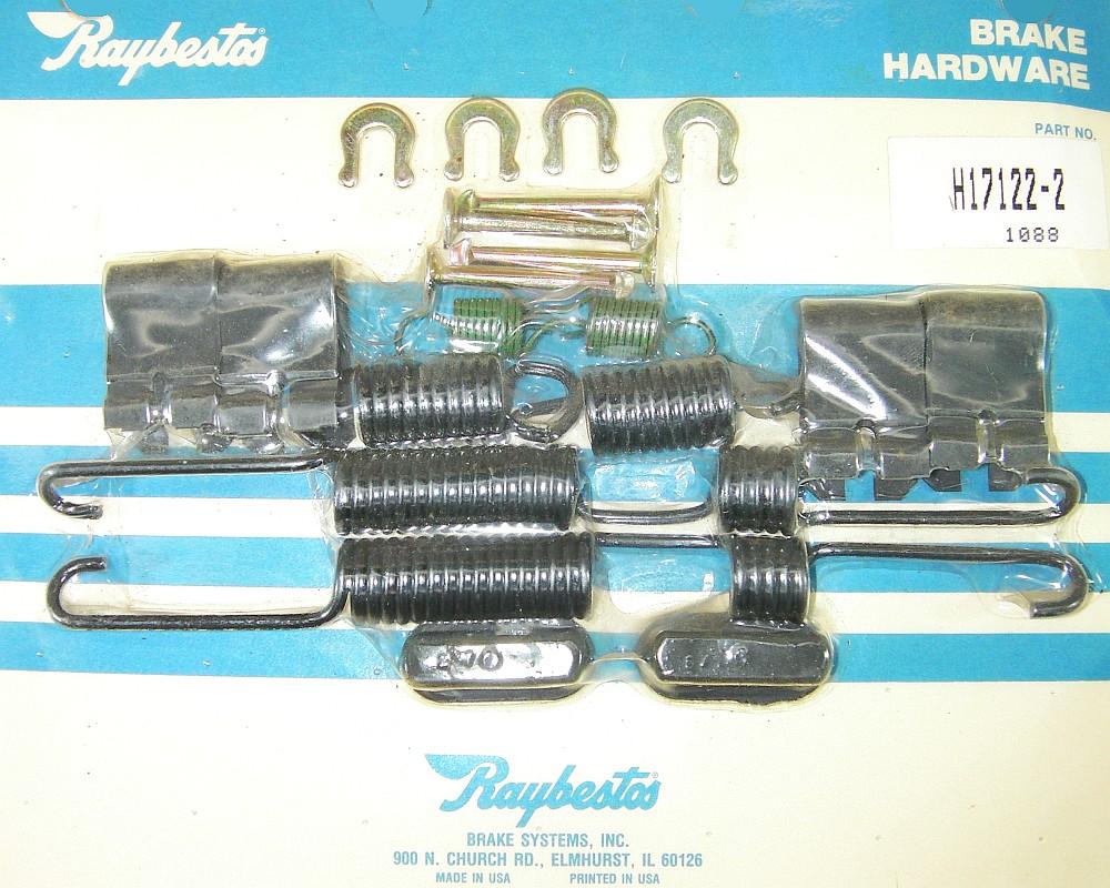 Raybestos H17122-2 Drum Brake Hardware Kit